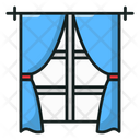 Room Curtains Icon