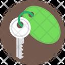 Room Key Keychain Key Icon