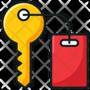 Room Key Door Key Safety Icon