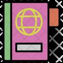 Passport Notebook Book Icon