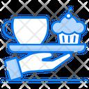 Room Service Hotel Service Tea Service Icon