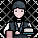 Room Service Hotel Trolley Hotel Service Icon