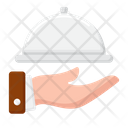 Room Service Food Service Hotel Service Icon
