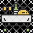 Room Service Hotel Icon