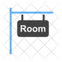 Signboard Rooms Sign Icon