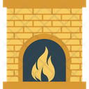 Room Stove Heating Stove Pellet Stove Icon