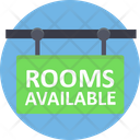 Rooms Available Rooms Signboard Hotel Icon