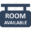 Rooms Available Rooms Signboard Hanging Board Icon