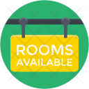 Rooms Available Signboard Icon