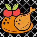 Chicken Food Drumstick Icon
