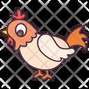 Hen Chicken Rooster Icon