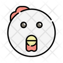Rooster Chicken Food Icon