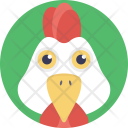 Rooster Cockerel Cock Icon