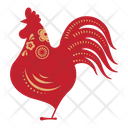 Rooster Zodicc Sign Chinese Zodics Icon