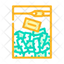 Root Bag Chopped Root Chopped Icon