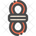 Rope Knot Line Icon