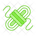 Rope Climbing Coil Icon