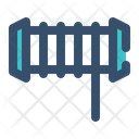 Rope Reel Cable Icon