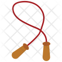 Rope Jumping Exercise Icon
