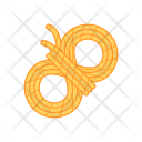 Rope Trekking Vacation Icon