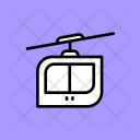 Rope Way Cable Car Icon