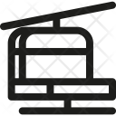 Ropeway Lift Mountain Icon