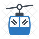 Ropeway Chairlift Travel Icon