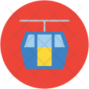 Lift Chairlift Rope Icon