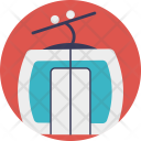 Chairlift Ropeway Aerial Icon