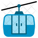 Cable Car Ropeway Transport Transportation Travel Mountain Icon