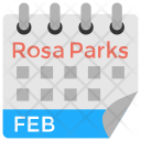 Rosa Parks Day Icon