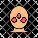 Rosacea Skin Disease Icon