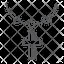 Rosary Catholic Faith Icon