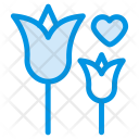 Rose Flower Growth Icon