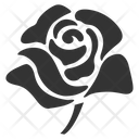 Rose Red Rose Love Flower Icon