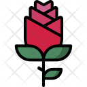 Rose Valentine Love Icon