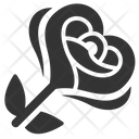 Rose Love Flower Love Icon
