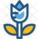 Open Lotus Bud Icon