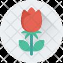Rose Flower Bud Icon