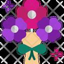 M Rose Icon