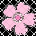 Rose Flower Plant Icon