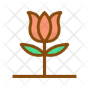 Rose Rose Bud Plant Icon