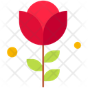 Rose Flower Red Rose Icon