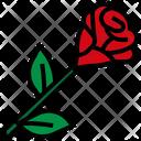 Rose Flower Aroma Icon