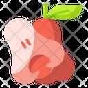 Rose Apple Fruit Food Icon