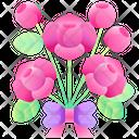 Rose Bouquet Bouquet Rose Icon