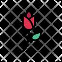 Flower Rose Garden Icon