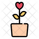 Flower Love Romance Icon