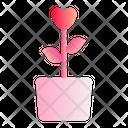 Flower Love Romance Icon