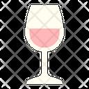 Rose Wine Icon